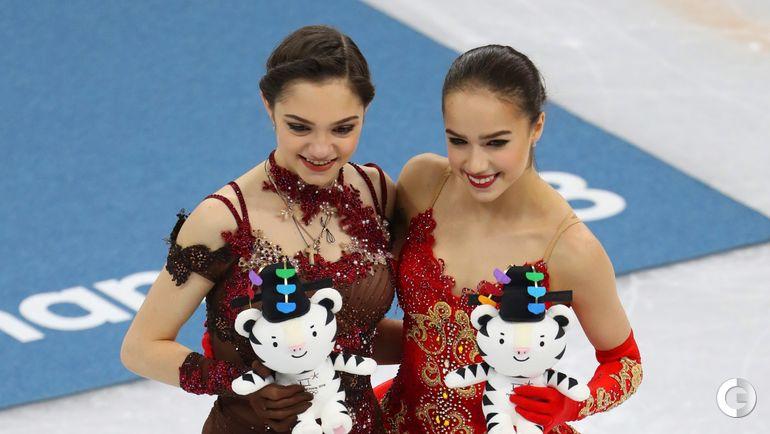 Сегодня. Пхенчхан. Евгения МЕДВЕДЕВА и Алина ЗАГИТОВА.