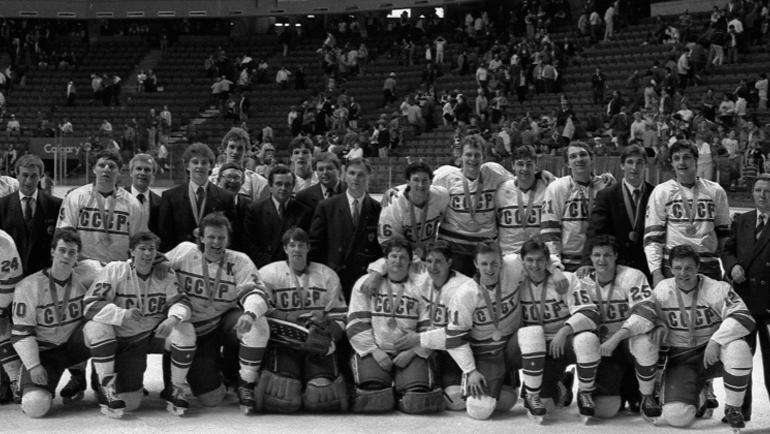 1988 год. Финляндия – СССР – 2:1. Фото worldhockeyclassic.ru