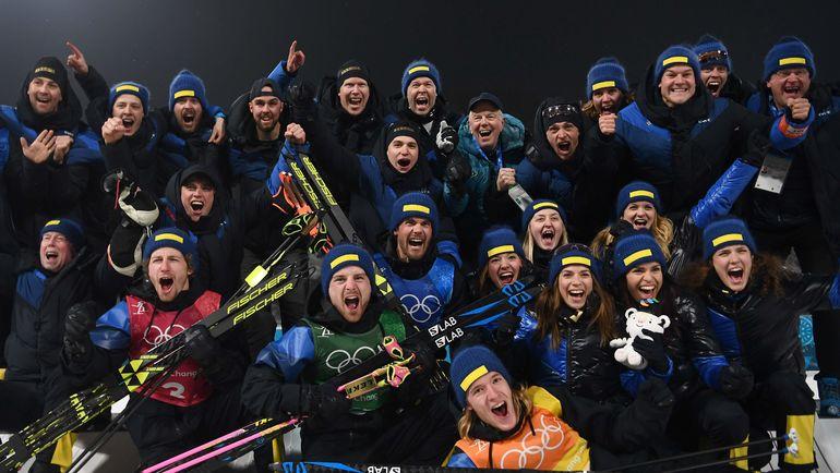 Сборная Швеции. Фото AFP