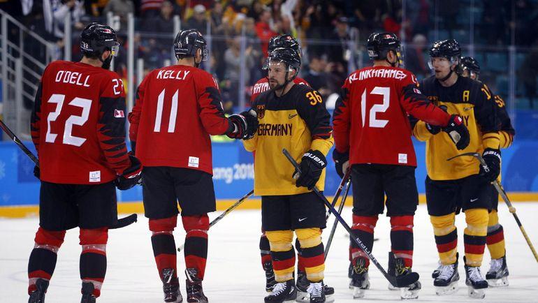 Пятница. Пхенчхан. Канада - Германия - 3:4. В финал с Россией вместо канадцев вышла Германия. Фото REUTERS