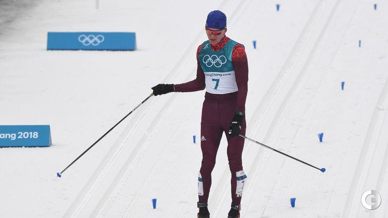 Сегодня. Пхенчхан. Лыжные гонки. Масс-старт, 50 км. Финиш серебряного призера, Александра БОЛЬШУНОВА.
