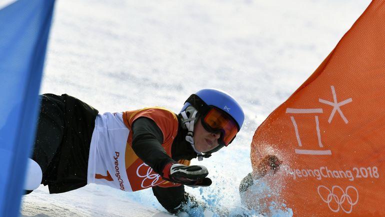 Падение Алены ЗАВАРЗИНОЙ. Фото Reuters
