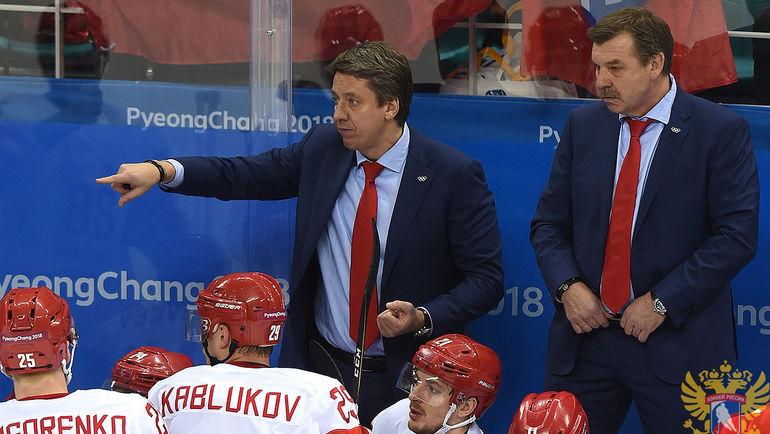 Харий ВИТОЛИНЬШ (в центре). Фото REUTERS