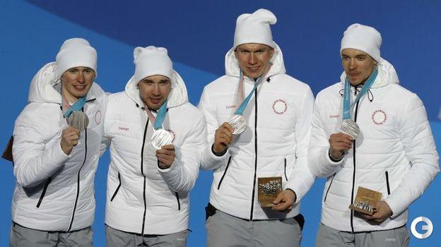 Денис СПИЦОВ, Алексей ЧЕРВОТКИН, Александр БОЛЬШУНОВ, Андрей ЛАРЬКОВ. Фото Reuters