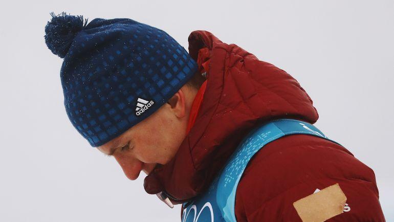 Александр БОЛЬШУНОВ расстроен серебряной медалью в марафоне. Фото Reuters