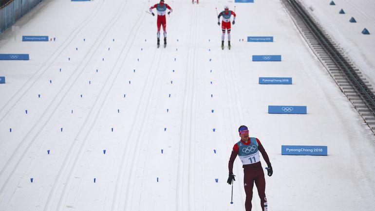 Финиш Андрея ЛАРЬКОВА. Фото REUTERS