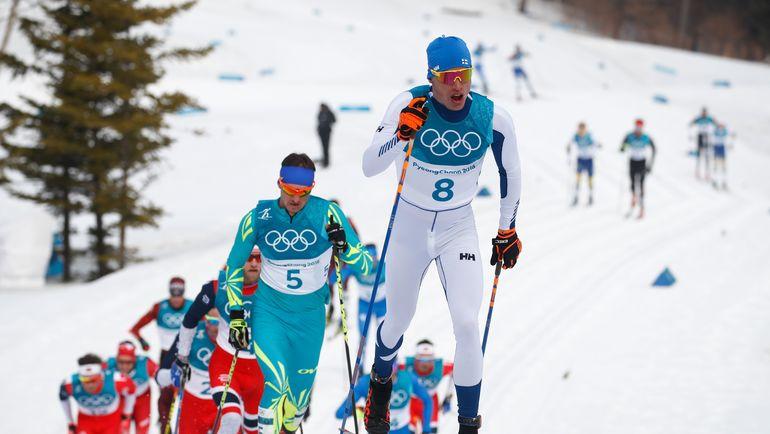 Иво НИСКАНЕН на лыжне. Фото AFP