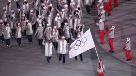 На церемонии закрытия Игр россияне пройдут под флагом МОК.