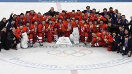Сегодня. Пхенчхан. Россия - Германия - 4:3 ОТ. Россия - олимпийский чемпион!