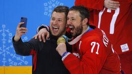 Сегодня. Пхенчхан. Россия - Германия - 4:3 ОТ. Селфи с Ильей КОВАЛЬЧУКОМ.