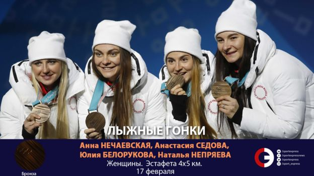Женская сборная (лыжи). Фото «СЭ»