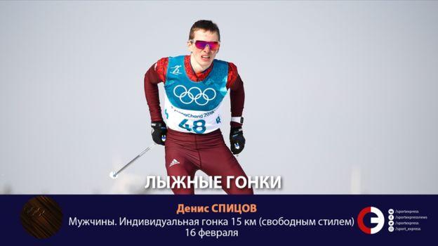 Денис СПИЦОВ (лыжи). Фото «СЭ»
