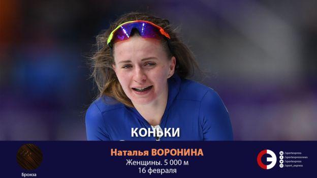 Наталья ВОРОНИНА (коньки). Фото «СЭ»