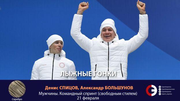 Денис СПИЦОВ, Александр БОЛЬШУНОВ (лыжи). Фото «СЭ»