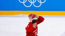 Сегодня. Пхенчхан. Россия - Германия - 4:3 ОТ. Кирилл КАПРИЗОВ после победной шайбы.