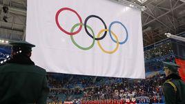 Сегодня. Пхенчхан. Россия - Германия - 4:3 ОТ. Хоккеисты сборной России не могли послушать свой гимн на награждении после игры.