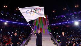 Россия без флага, голый тонганец и фейерверк Пхенчхана