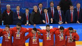 Воскресенье. Пхенчхан. Россия - Германия - 4:3 ОТ. Сборная России - олимпийский чемпион.