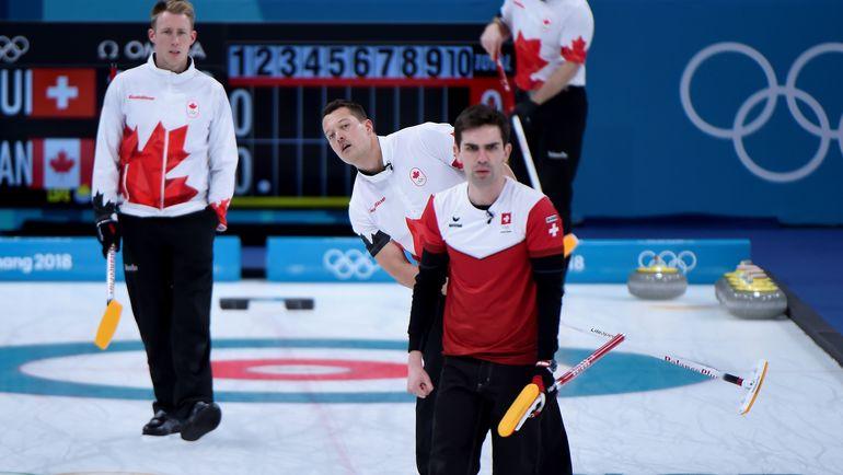 Керлингисты сборной Канады. Фото AFP
