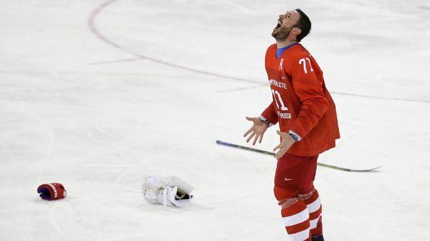 Илья КОВАЛЬЧУК празднует долгожданную победу на Олимпийских играх. Фото Reuters