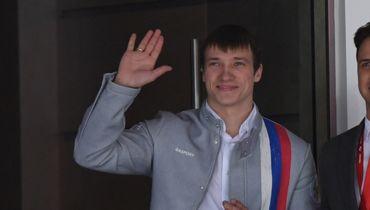 Призер Олимпиады Буров посетил матч