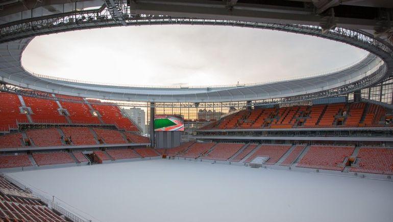 "Стадион ""Екатеринбург Арена"". Фото twitter.com/fifaworldcup_ru"