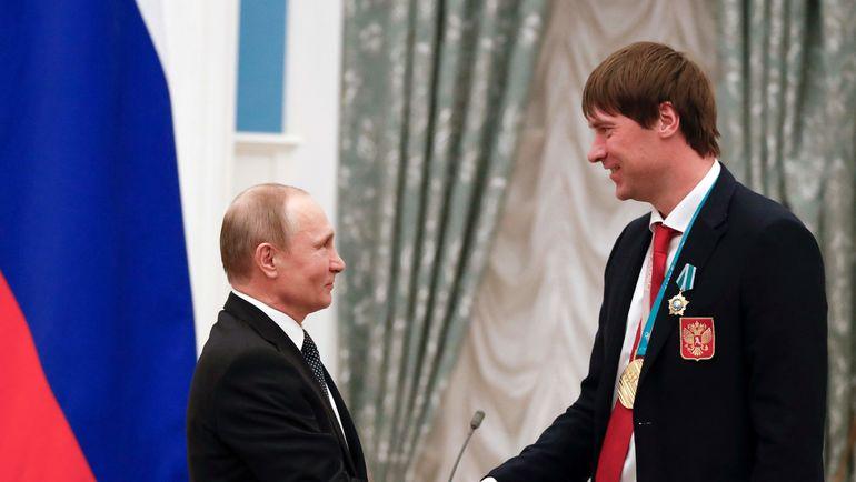 Сегодня. Кремль. Владимир ПУТИН и Василий КОШЕЧКИН. Фото AFP