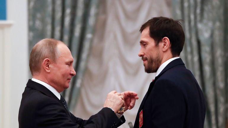Сегодня. Москва. Кремль. Владимир ПУТИН и Павел ДАЦЮК. Фото AFP