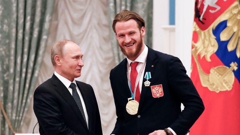 Владимир ПУТИН и Иван ТЕЛЕГИН. Фото AFP