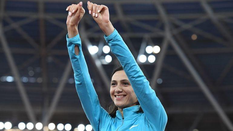 Мария ЛАСИЦКЕНЕ - главная звезда нашей легкой атлетики. Фото AFP