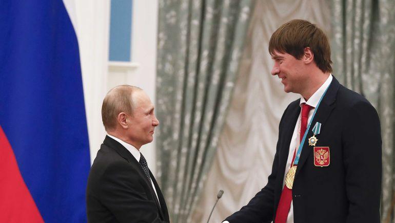 Владимир ПУТИН и Василий КОШЕЧКИН. Фото AFP