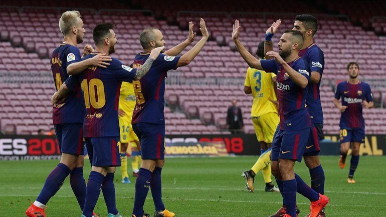 """Лас-Пальмас"" vs ""Барселона""."