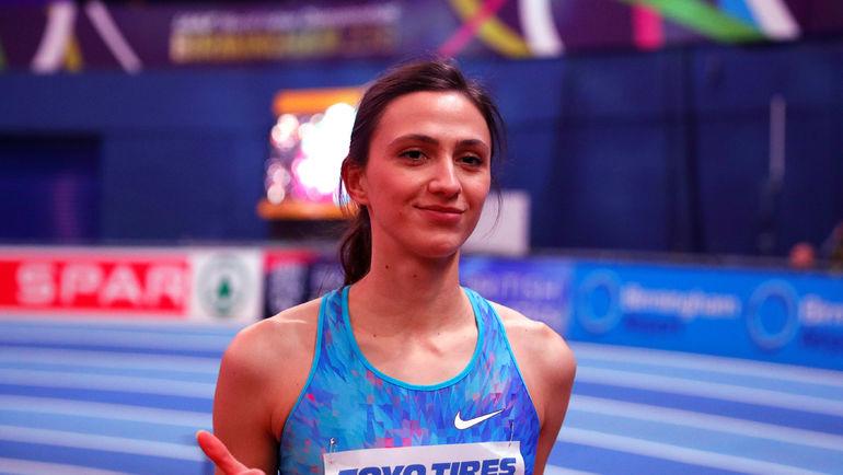 Четверг. Бирмингем. Мария ЛАСИЦКЕНЕ выиграла золотую медаль. Фото REUTERS