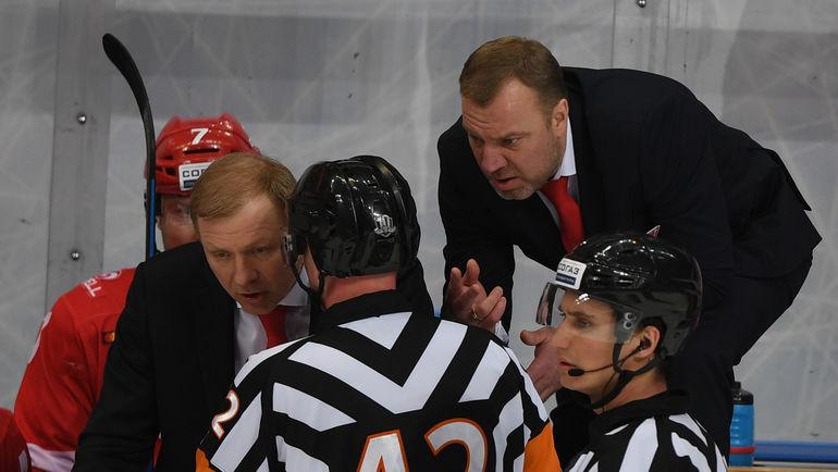 Вадим ЕПАНЧИНЦЕВ (справа) и Алексей ЖАМНОВ. Фото Александр ФЕДОРОВ, «СЭ»