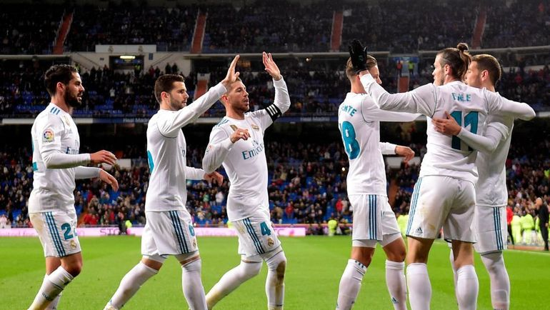 """""""Реал"""" после гола """"Хетафе"""". Фото УЕФА"""