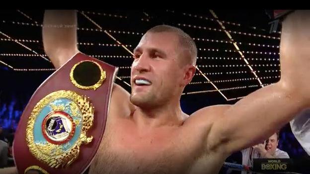 Сергей КОВАЛЕВ защитил чемпионский титул WBO. Фото «СЭ»