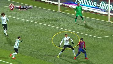 Арбитр Галимов не назначил пенальти в ворота