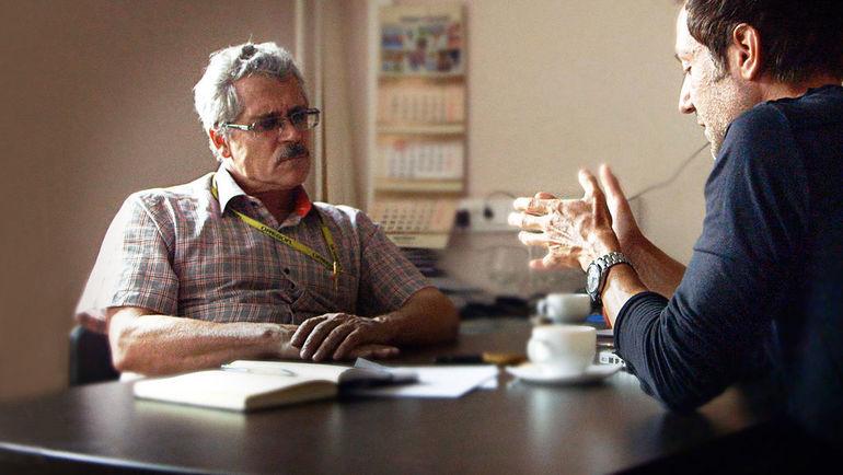 Брайан ФОГЕЛЬ (справа) и Григорий РОДЧЕНКОВ. Фото netflix.com