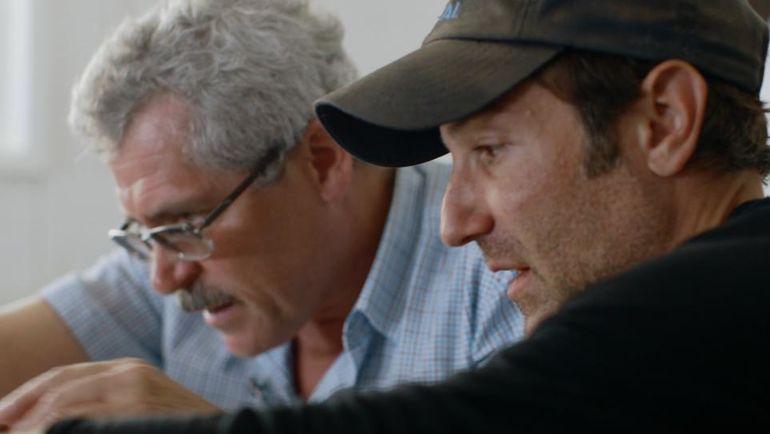 Брайан ФОГЕЛЬ (справа) и Григорий РОДЧЕНКОВ. Фото Newsweek