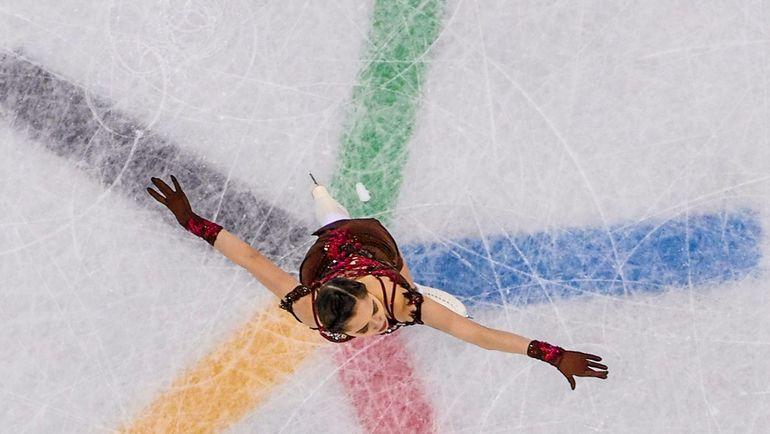23 февраля. Пхенчхан. Евгения МЕДВЕДЕВА. Фото AFP