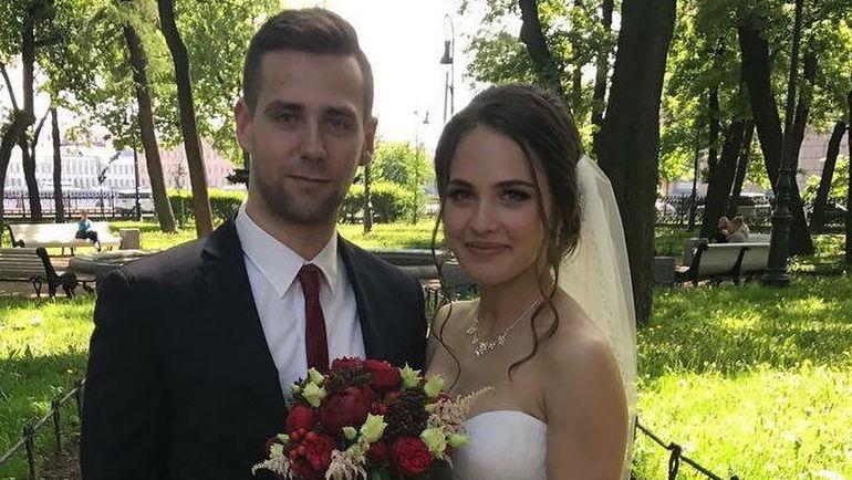 Свадебная фотография Анастасии БРЫЗГАЛОВОЙ и Александра КРУШЕЛЬНИЦКОГО. Фото instagram.com