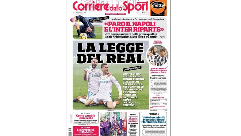 Corriere della Sera.