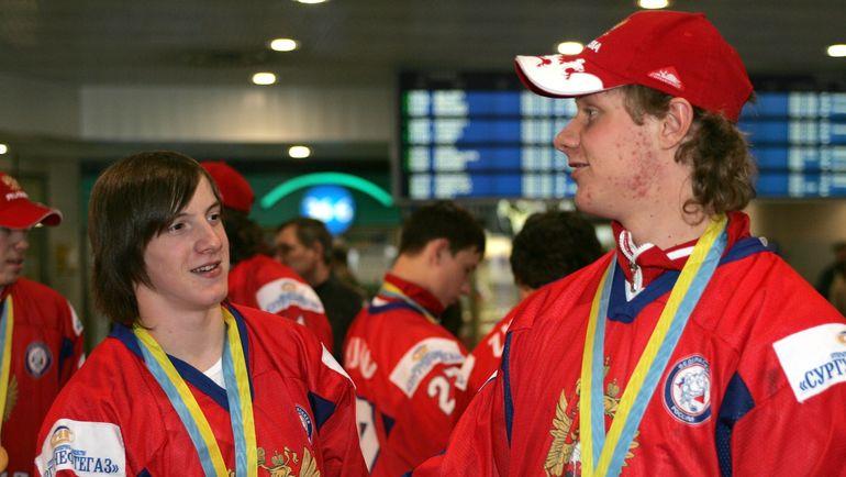 Дмитрий КАГАРЛИЦКИЙ и Сергей АНДРОНОВ. Фото Татьяна ДОРОГУТИНА