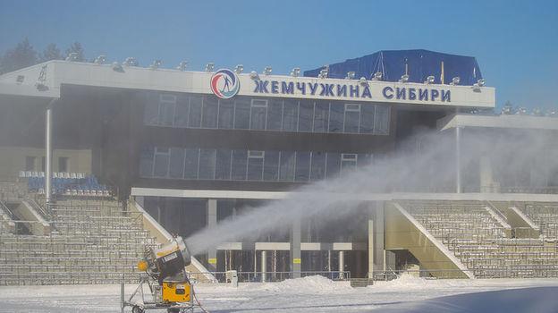 Арена в Тюмени.