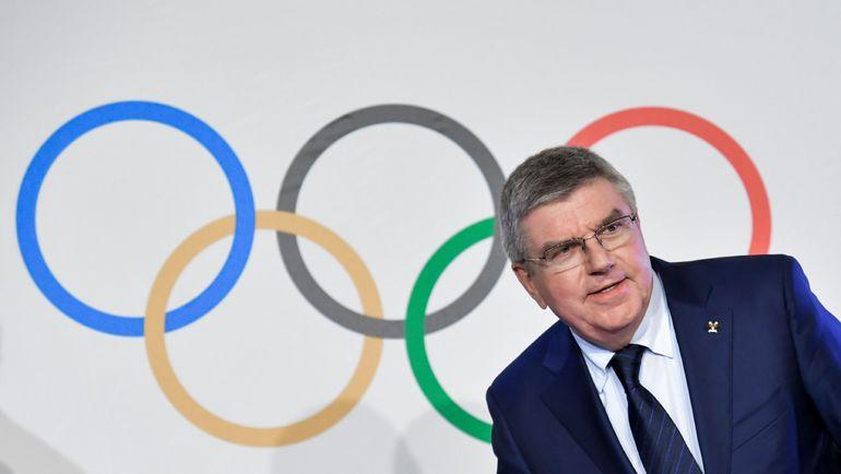 Томас БАХ вернул России флаг. Но после Олимпиады в Пхенчхане. Фото AFP