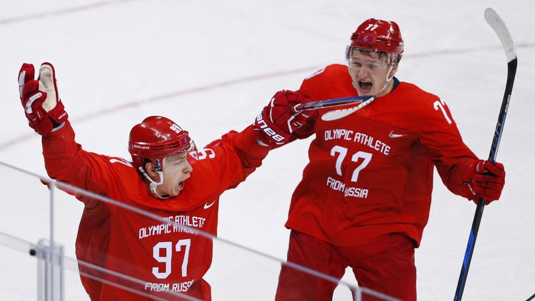 Никита ГУСЕВ и Кирилл КАПРИЗОВ. Фото REUTERS