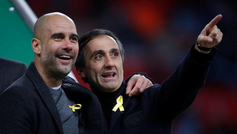 Хосеп ГВАРДЬОЛА (слева). Фото REUTERS