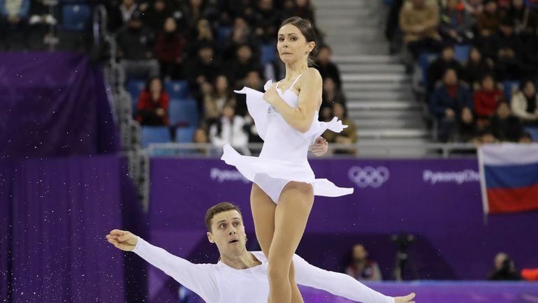 Наталья ЗАБИЯКО и Александр ЭНБЕРТ. Фото REUTERS