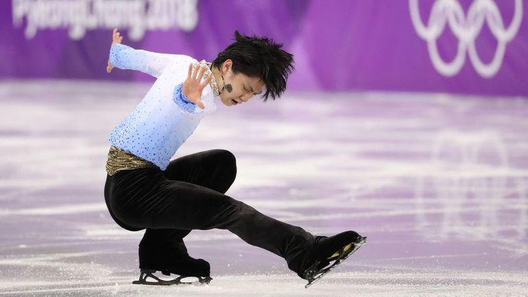 Двукратный олимпийский чемпион Юдзуру ХАНЮ. Фото AFP