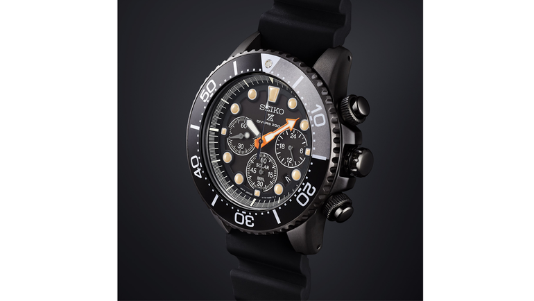 Seiko Prospex Black Series.
